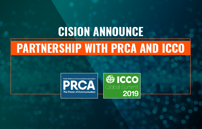 Cision to support flagship PRCA and ICCO events