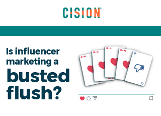 Is influencer marketing a busted flush?
