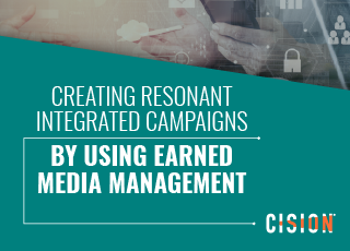 Creating integrated campaigns with Earned Media Management