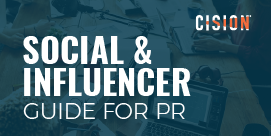 Social & Influencer Guide for PR