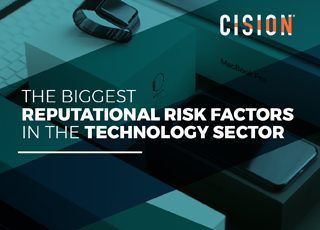 The biggest reputational risk factors in the technology sector