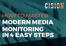 Modern media monitoring in 4 steps